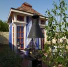 Пурпурный дворец. Беседка с террасой для дикого сада 2